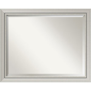 Romano Narrow Silver 32 x 26 In. Bathroom Mirror