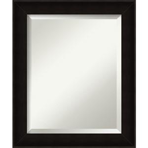 Manteaux Black 20 x 24 In. Bathroom Mirror