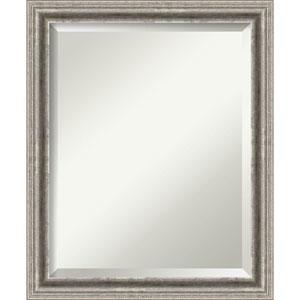 Bel Volto Silver 19 x 23 In. Bathroom Mirror