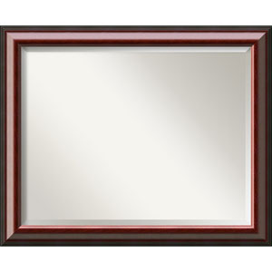 Charmant Cambridge Mahogany 32 X 26 In. Bathroom Mirror