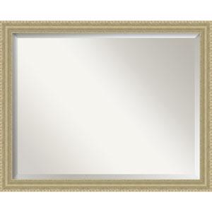 Champagne Teardrop 31 x 25 In. Bathroom Mirror