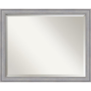 Graywash 31 x 25 In. Bathroom Mirror