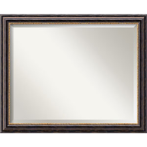 Tuscan Rustic 32 x 26 In. Bathroom Mirror
