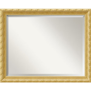 Versailles Gold 32 x 26 In. Bathroom Mirror