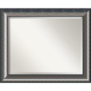 Quicksilver Scoop 34 x 28 In. Bathroom Mirror