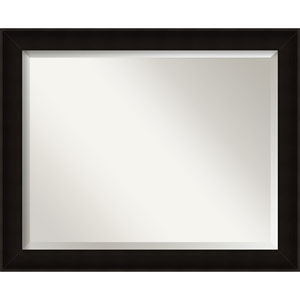 Manteaux Black 32 x 26 In. Bathroom Mirror