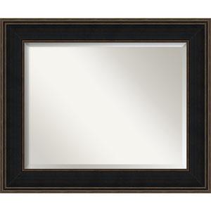 Mezzanine Espresso 36 X 30 In Bathroom Mirror