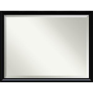 Steinway Black Scoop 33 x 43 In. Bathroom Mirror