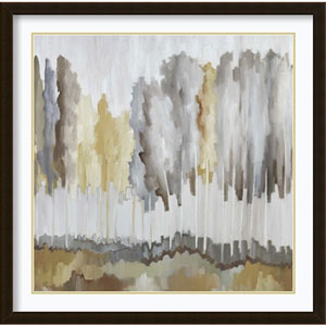 Edge of the Field (Trees) by Jacqueline Ellens, 34 In. x 34 In. Framed Art