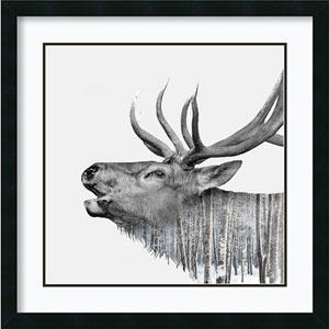Deer by Clean Nature, 27 In. x 27 In. Framed Art