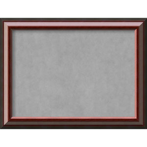 Cambridge Mahogany, 33 In. x 25 In. Magnetic Board
