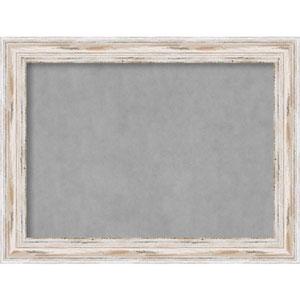 Alexandria White Wash, 33 In. x 25 In. Magnetic Board