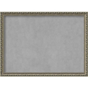 Parisian Silver, 31 In. x 23 In. Magnetic Board