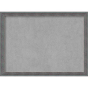 Dixie Grey Rustic, 30 In. x 22 In. Magnetic Board