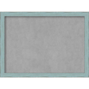Sky Blue Rustic, 31 In. x 23 In. Magnetic Board