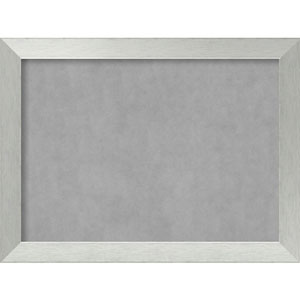 Brushed Sterling Silver, 32 In. x 24 In. Magnetic Board