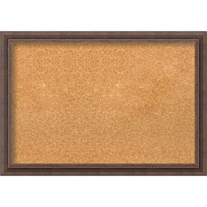 Distressed Rustic Brown, 27 In. x 19 In. Message Board
