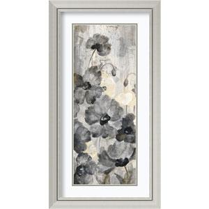 Crystal Raindrops Panel II by Silvia Vassileva, 21 In. x 39 In. Framed Art