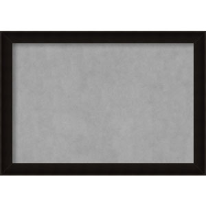 Manteaux Black, 40 In. x 28 In. Magnetic Board