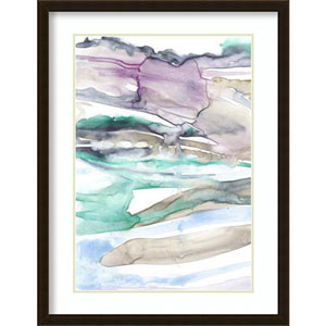Geode Layers I by Jennifer Goldberger, 28 In. x 38 In. Framed Art