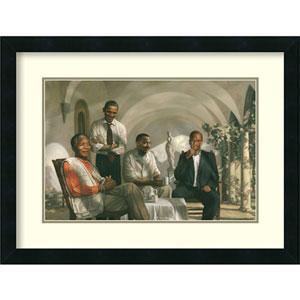 The Pioneers, 25 In. x 19 In. Framed Art
