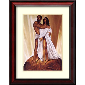 Power of Love by Wak - Kevin A. Williams, 20 In. x 25 In. Framed Art