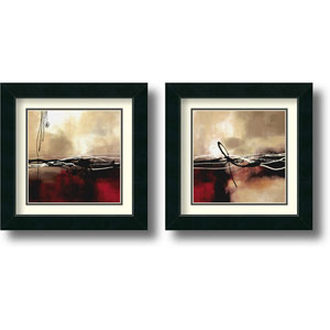 Symphony - Set of Two by Laurie Maitland: 17.5 x 17.5 Framed Prints