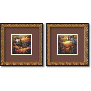 Tuscany - Set of Two by Nancy OToole: 18.2 x 18.2 Framed Prints
