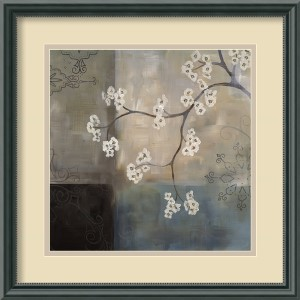 Spa Blossom I by Laurie Maitland: 17.5 x 17.5 Print Reproduction
