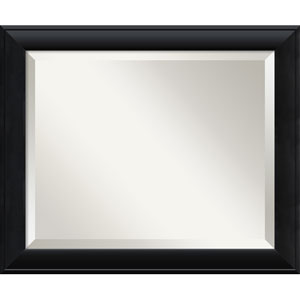 Nero Black Wall Mirror - Medium