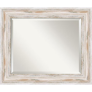 Alexandria Whitewash Wall Mirror - Medium