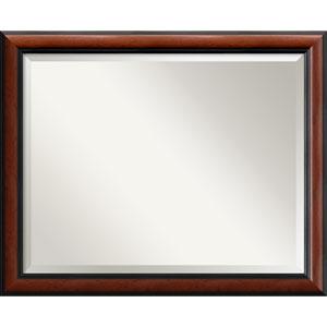 Regency Mahogany Wall Mirror - Large