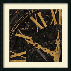 Roman Numerals II by Russell Brennan: 26 x 26 Print Reproduction