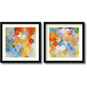 Cubitz - Set by Noah: 24 x 24 Print Reproduction