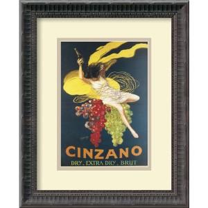Cinzano, 1920 by Leonetto Cappiello: 13.25 x 16.25 Print Reproduction