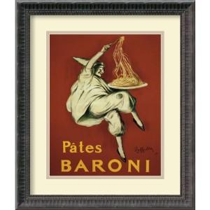 Pates Baroni (Ca. 1921) by Leonetto Cappiello: 16.25 x 19.25 Print Reproduction