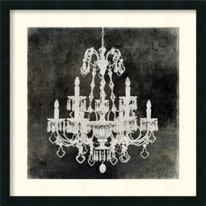 Chandelier II by Oliver Jeffries: 26 x 26 Print Reproduction
