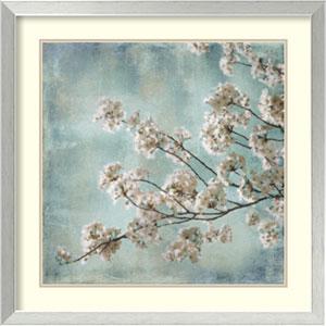 Aqua Blossoms I By John Seba : 26 x 26-Inch