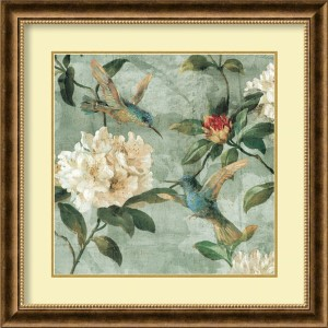 Birds of a Feather I by Renee Campbell: 28.75 x 28.75 Print Reproduction