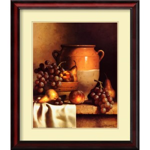 Confit Jar with Bowl by Loran Speck: 24 x 28 Print Reproduction