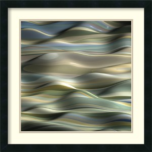 Undulation 5 by J.P. Clive: 24 x 24 Print Reproduction