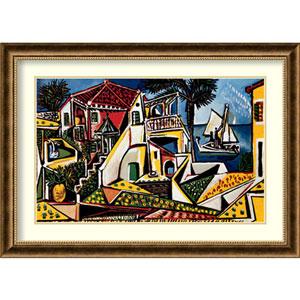 Paysage Mediterraneen By Pablo Picasso : 37 x 27-Inch