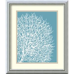 Aqua Coral II by Sabine Berg: 17 x 20 Print Reproduction