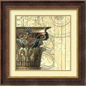 Architectural Inspiration II by Vision Studio: 23.75 x 23.75 Print Reproduction