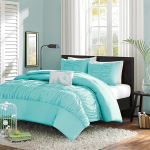 Mirimar Blue Three-Piece Twin Comforter Set