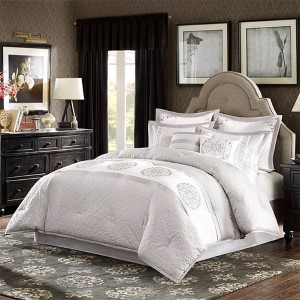 Signature Arianna Grey Eight-Piece Queen Comforter Set