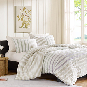 Sutton Multi-Colored Two Piece Twin Mini Comforter Set