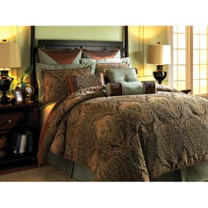 Canovia Springs Queen Comforter Set