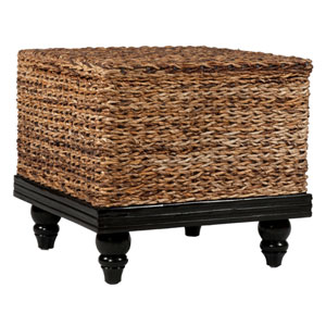 Cambridge Brown Abaca Square Accent Table