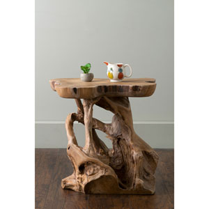 Grafton Brown Specialty Teakwood Accent Table